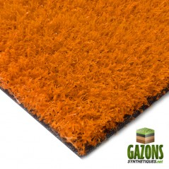 gazon synthétique orange 26mm