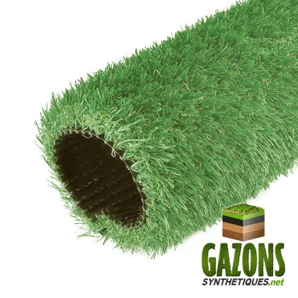 gazon synthétique couleur vert amande