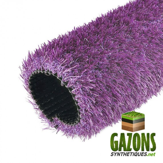 gazon synthétique violet 26mm
