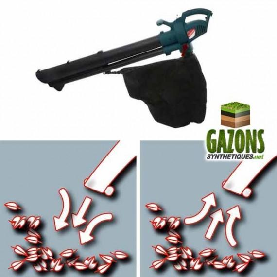 Broyeur pour l'entretien de pelouse artificielle