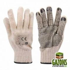 Gants de protection PVC (taille unique)
