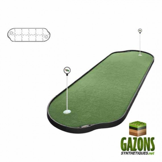 Kit Golf - 12 paneaux - Putting Green