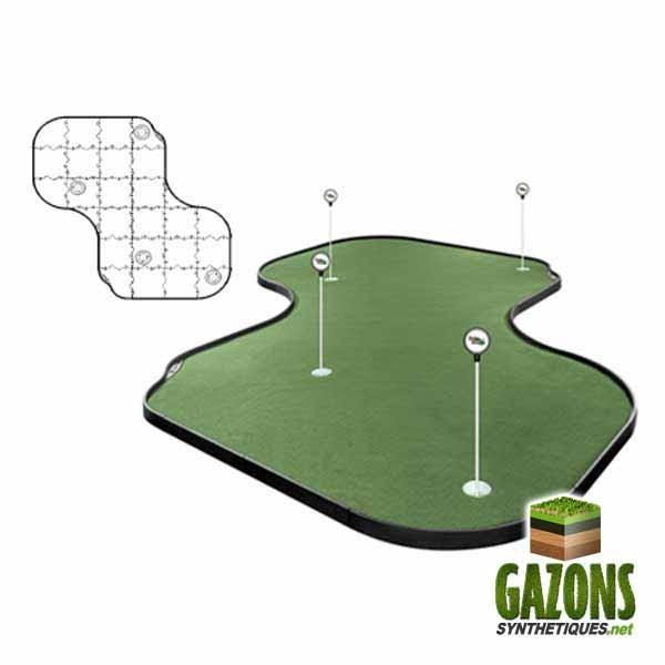 achat pelouse golf artificielle 3 trous. Black Bedroom Furniture Sets. Home Design Ideas