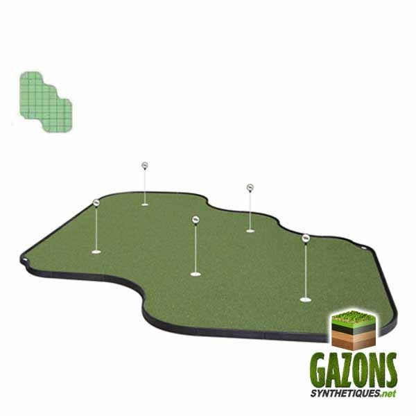 Kit Golf - 48 paneaux - Putting Green