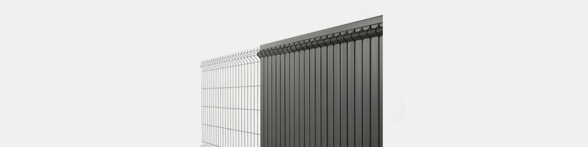 Achat De Lame d'occultation PVC rigide en KIT Pour Clôtures