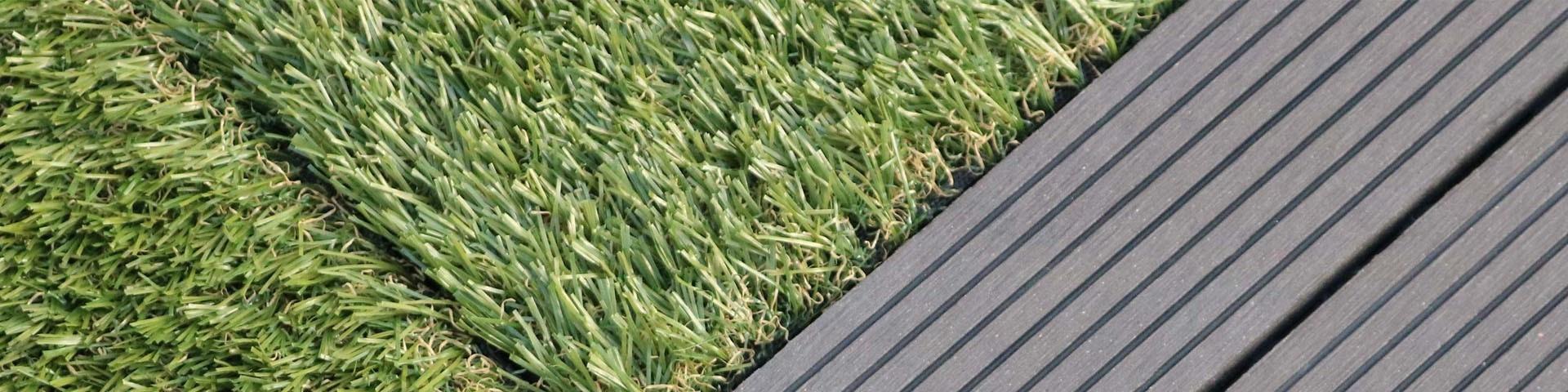 Achat de bordures de jardin en PVC gris rigide solide et imperméable
