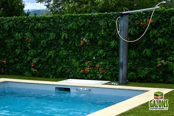 murs végétaux artificiels modèle tropical